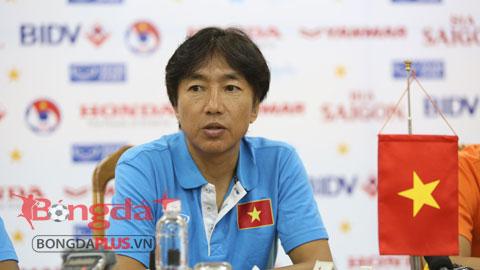 """Bóng đá - HLV Miura: """"Tôi nhận ra nhiều bài học sau trận hòa U23 Hàn Quốc"""""""