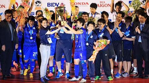Bóng đá - Hạ Myanmar 3-2, Thái Lan vô địch giải nữ ĐNÁ 2015