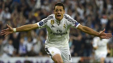 Bóng đá - Real trả Chicharito lại M.U, tính 'cuỗm' Aguero để thay Ronaldo