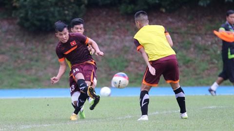 Nhật ký ĐT U23 Việt Nam: HLV Miura vẫn giữ cường độ tập luyện cao