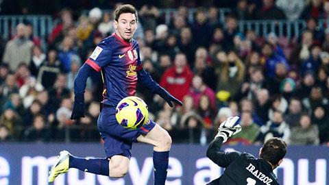 Bóng đá - Chung kết Cúp Nhà Vua: Messi luôn đáng sợ ở Nou Camp