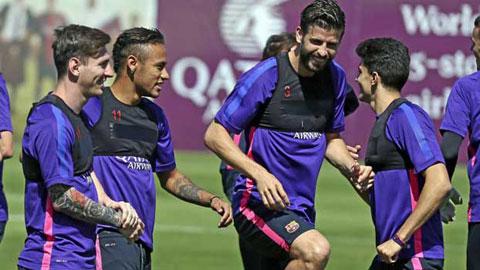 Bóng đá - Suarez và 9 cầu thủ Barca bị kiểm tra doping đột xuất