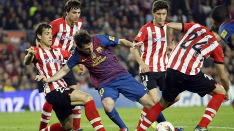 Bóng đá - Chờ duyên ghi bàn của Messi ở chung kết Cúp Nhà vua