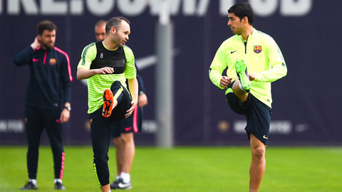 Suarez tái xuất ở trận chung kết cúp Nhà vua