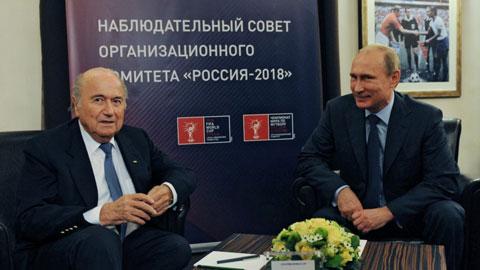 Khả năng Nga bị tước quyền đăng cai World Cup 2018: Một âm mưu chống lại... Putin?