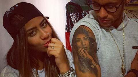 Em gái Neymar vẫn đơn hình lẻ bóng