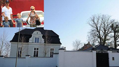 Ibra ở nhà thuê… 30.000 euro/tháng