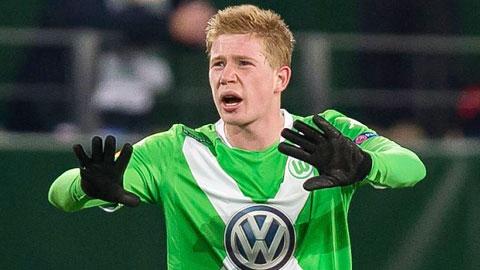 Bóng đá - Man City nâng giá mua De Bruyne lên 53 triệu bảng