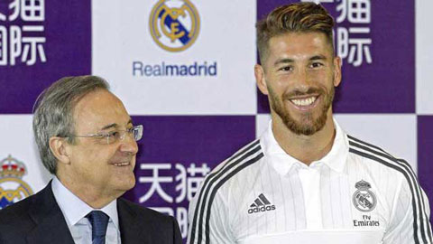 Bóng đá - Ramos gia hạn hợp đồng với Real đến 2020