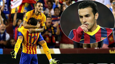 Với Sandro, Barca có thể yên tâm bán Pedro