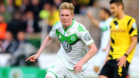 Bóng đá - Man City chốt giá mua De Bruyne 54 triệu bảng