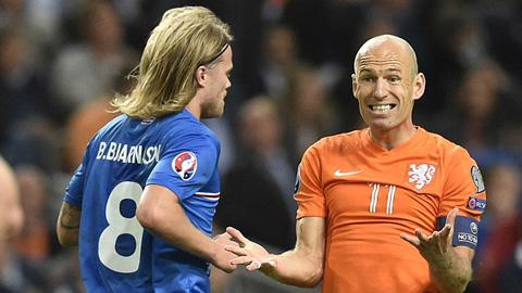 Hà Lan thiệt đơn thiệt kép sau thất bại trước Iceland