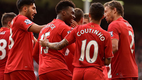 Liverpool 3-2 Aston Villa: Sturridge giải tỏa áp lực cho Rodgers