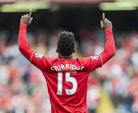 Sturridge đóng góp 1 cú đúp vào chiến thắng của Liverpool