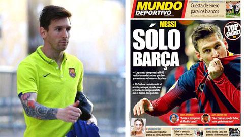 Messi khởi kiện tờ El Mundo tội vu khống