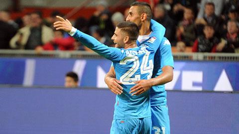 Bóng đá - AC Milan bị Napoli vùi dập ngay tại San Siro