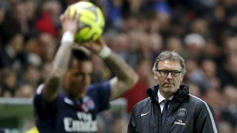 """Bóng đá - HLV Blanc (PSG): """"Không chấn thương, không xoay tua"""""""
