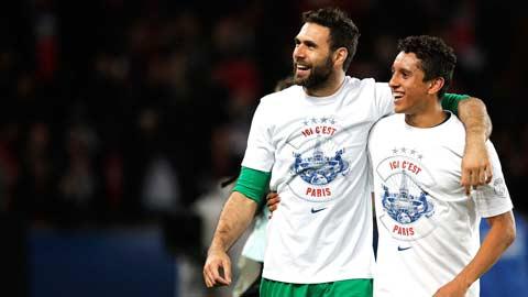 Bóng đá - PSG mất hai trụ cột ở hàng thủ: Cơ hội cho Sirigu và Marquinhos