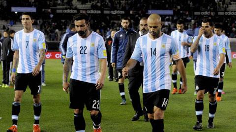 Bóng đá - Vắng Messi, Argentina vẫn chưa thắng ở vòng loại World Cup 2018