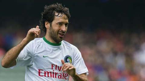 Bóng đá - 'Chúa nhẫn' Raul hé lộ kế hoạch chia tay sự nghiệp cầu thủ