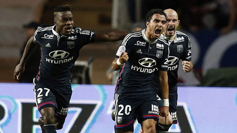 Bóng đá - Monaco 1-1 Lyon: Cựu hậu vệ M.U giúp đội khách thoát hiểm