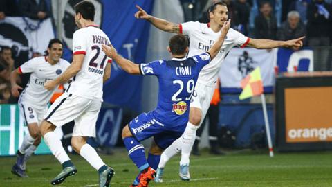 Bastia 0-2 PSG: Ibra gửi chiến thư tới Real