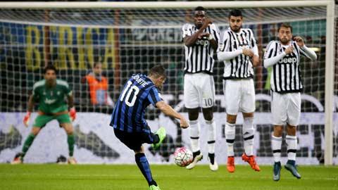 Bóng đá - Inter 0-0 Juventus: Thừa quyết liệt,  thiếu bàn thắng