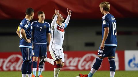 Bóng đá - U17 World Cup: Đức đè bẹp Argentina 4-0