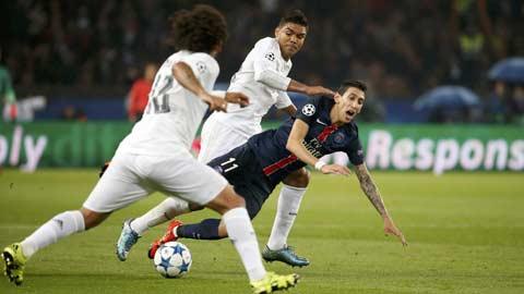 PSG thiếu chút... điên ở Champions League