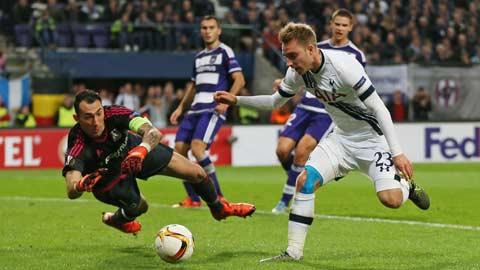 Bóng đá - Tottenham, Fiorentina thua sốc ở Europa League 2015/16