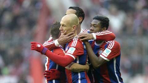 Bóng đá - Bayern hướng đến trận thắng thứ 1.000
