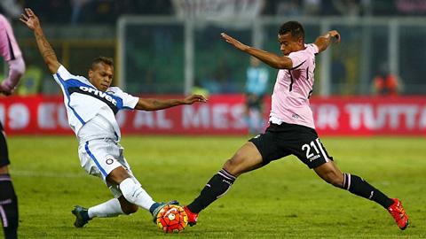 Bóng đá - Bị Palermo cầm hòa 1-1, Inter lỡ cơ hội trở lại ngôi đầu Serie A