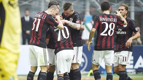 Bóng đá - AC Milan 2-1 Sassuolo: Giải cứu Mihajlovic
