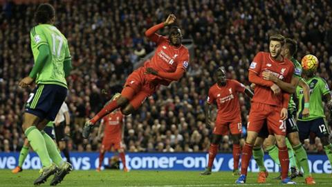 Liverpool 1-1 Southampton: Klopp vẫn không thể thắng