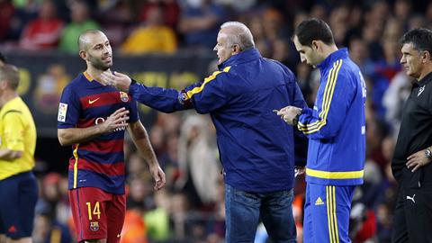 Bóng đá - Barca kháng cáo thẻ đỏ của Mascherano