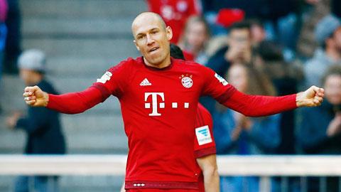 Bóng đá - Robben tái xuất  biến ảo hơn cùng Bayern