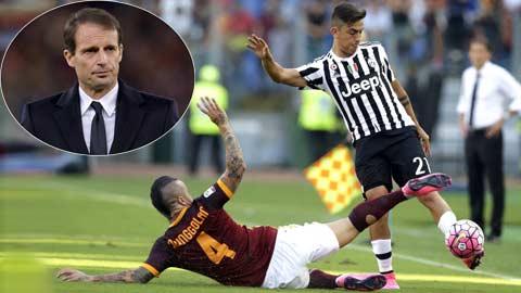 Tận dụng Dybala, Juve ắt có bàn thắng