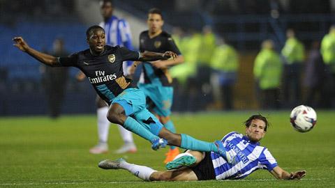 Bóng đá - Arsenal trình làng 4 măng non trong ngày thảm bại tại cúp Liên đoàn
