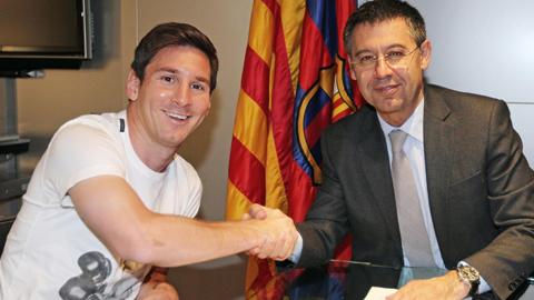 Bóng đá - Barca muốn ký hợp đồng trọn đời với Messi