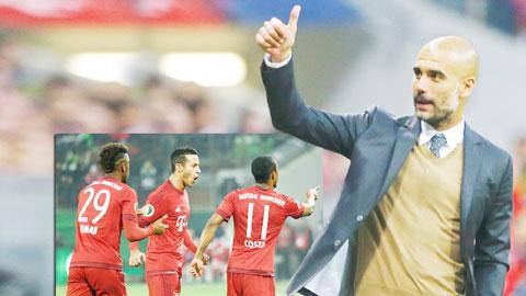 Bayern thăng hoa, dấu ấn của Guardiola