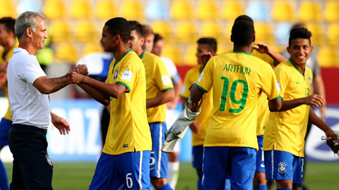 Bóng đá - Brazil, Mexico, Bỉ và Nigeria lọt vào tứ kết giải U17 thế giới