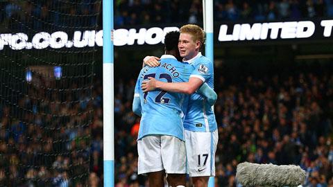 Bóng đá - De Bruyne và Iheanacho tỏa sáng, Man City vùi dập Crystal Palace