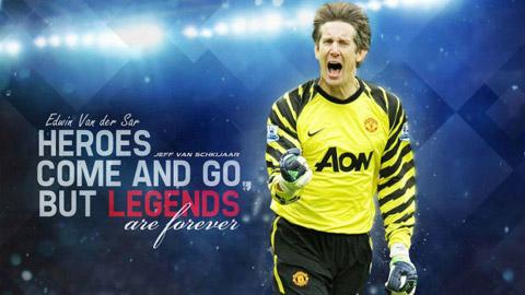 Bóng đá - Edwin van der Sar: Người gác đền huyền thoại của bóng đá thế giới