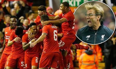 Liverpool là đội bóng giàu thành tích nhất tại cúp Liên đoàn Anh