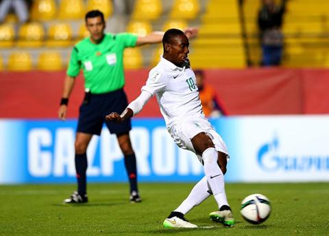 Nwakali đóng góp vào chiến thắng ấn tượng của U17 Nigeria