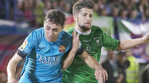 Villanovense 0-0 Barca: Thử nghiệm thất bại của Enrique