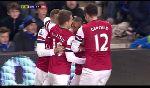 Everton vs. Arsenal (giải Ngoại Hạng Anh ngày 29/11/2012 02:45)