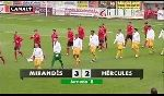 CD Mirandes vs. Hercules Alicante