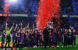 Góc ảnh: Barca đăng quang La Liga 2012-13