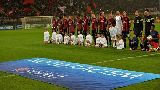 Chùm ảnh: AC Milan kiên cường cầm hòa Barcelona